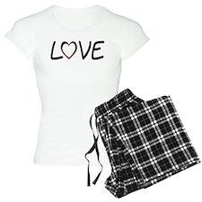 Heart Shaped Love Pajamas