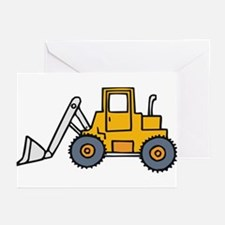 Backhoe1 Greeting Cards (Pk of 10)