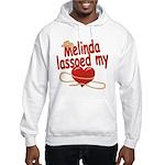 Melinda Lassoed My Heart Hooded Sweatshirt