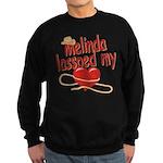 Melinda Lassoed My Heart Sweatshirt (dark)