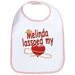 Melinda Lassoed My Heart Bib