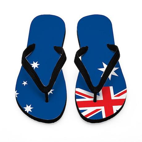 Australia Flag Flip Flops