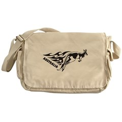 Australia Kangaroo Messenger Bag