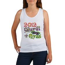 2012 Mardi Gras Women's Tank Top