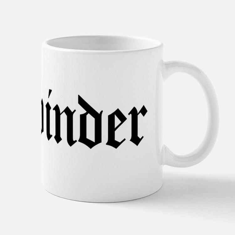 Bookbinder Mug
