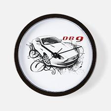 Aston Martin DB9 Wall Clock