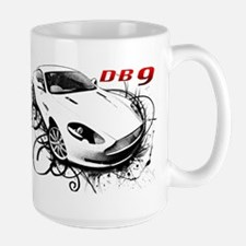 Aston Martin DB9 Large Mug