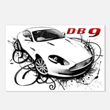 Aston Martin DB9 Postcards (Package of 8)