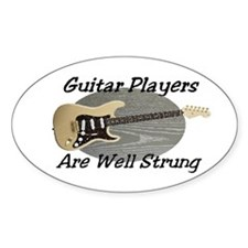 Well Strung Oval Decal