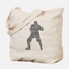 Hockey Fighter Goon Tote Bag