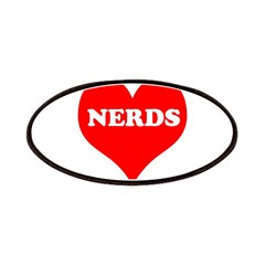 Big Heart Nerds Patches