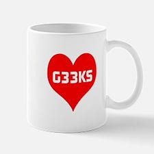 Big Heart G33ks Mug