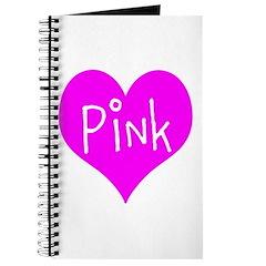 I Heart Pink Journal