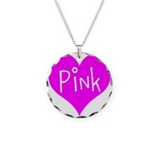 I Heart Pink Necklace
