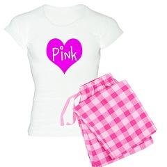 I Heart Pink Pajamas