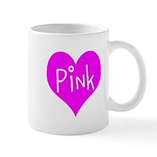 I Heart Pink Mug