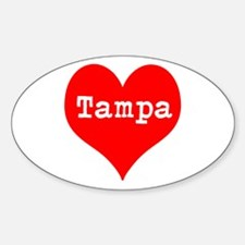 iHeart Tampa Decal