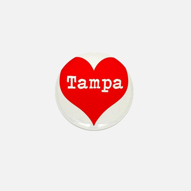 iHeart Tampa Mini Button