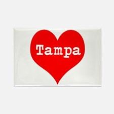 iHeart Tampa Rectangle Magnet