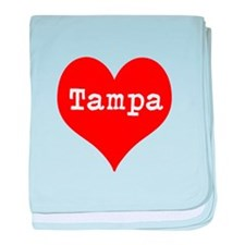 iHeart Tampa baby blanket