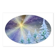 Blazing Star Christmas Postcards (Package of 8)