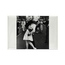Sailors Kiss Best Rectangle Magnet