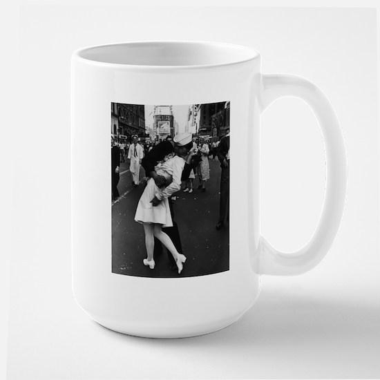 Sailors Kiss Best Large Mug