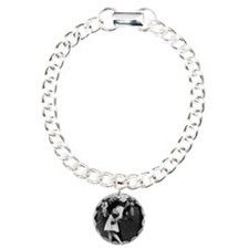 Sailors Kiss Best Charm Bracelet, One Charm