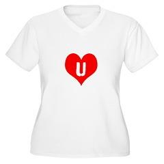 Heart U iheart You I Love T-Shirt