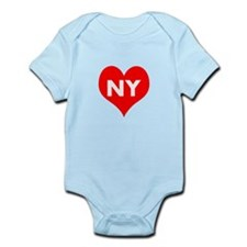 I Big Heart NY Infant Bodysuit