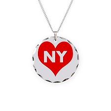 I Big Heart NY Necklace