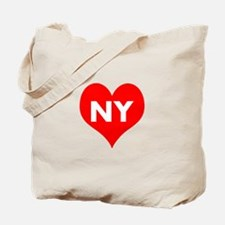 I Big Heart NY Tote Bag