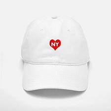 I Big Heart NY Baseball Baseball Cap