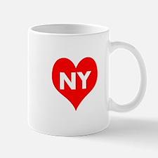 I Big Heart NY Mug