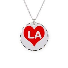 Big Heart LA Necklace