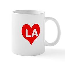Big Heart LA Mug