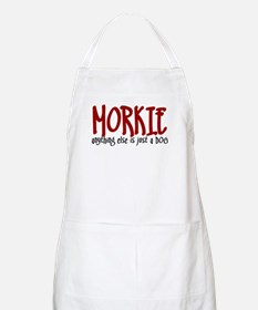Morkie JUST A DOG Apron