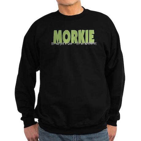 Morkie ADVENTURE Sweatshirt (dark)
