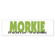 Morkie ADVENTURE Bumper Sticker