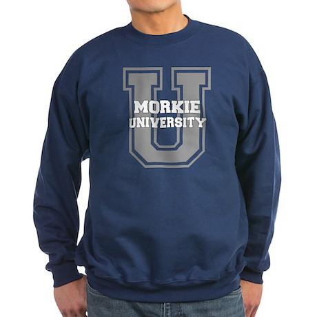 Morkie UNIVERSITY Sweatshirt (dark)