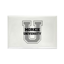 Morkie UNIVERSITY Rectangle Magnet