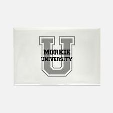 Morkie UNIVERSITY Rectangle Magnet