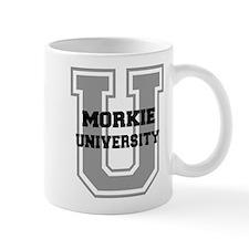 Morkie UNIVERSITY Small Mugs