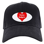 Big Heart Honey Badgers Black Cap