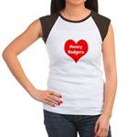 Big Heart Honey Badgers Women's Cap Sleeve T-Shirt
