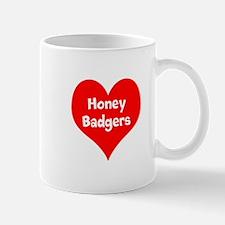 Big Heart Honey Badgers Mug