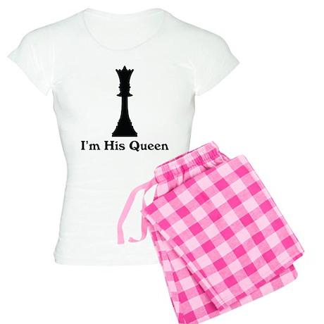 I'm His Queen Couples Women's Light Pajamas