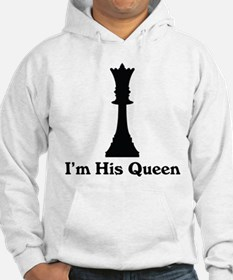 I'm His Queen Couples Hoodie