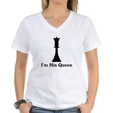 I'm His Queen Couples Shirt