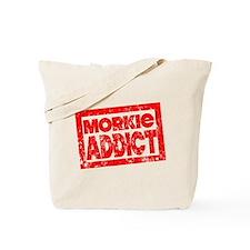 Morkie ADDICT Tote Bag